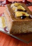 brzoskwinia pudding Obrazy Stock