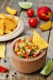 Brzoskwinia salsa Obraz Stock