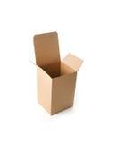 brązowe pudełko karton Zdjęcia Royalty Free