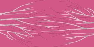 Brzoza abstrakta 1 purpurowy wizerunek robi nowemu imaginacyjnemu krajobrazowi ilustracji