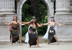 brzuchów tancerze Zdjęcie Royalty Free