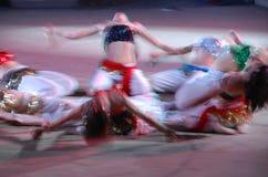 Brzuchów tancerze Fotografia Royalty Free