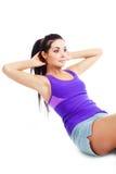 Brzuchów ćwiczenia Zdjęcie Royalty Free