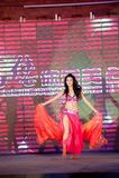 Brzucha tana pierwszy chybienie Jiangxi Międzynarodowy konkurs Zdjęcie Stock
