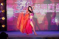 Brzucha tana pierwszy chybienie Jiangxi Międzynarodowy konkurs Zdjęcia Stock