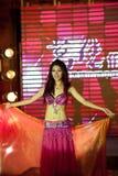 Brzucha tana pierwszy chybienie Jiangxi Międzynarodowy konkurs Zdjęcia Royalty Free