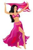 brzucha tancerz ilustracja wektor
