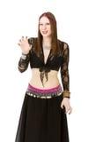 Brzucha tancerz agresywny Fotografia Stock
