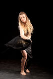 brzucha tancerz Oriental Zdjęcia Royalty Free