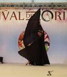 Brzucha tancerz z czarnym żakietem Fotografia Stock