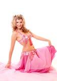 brzucha tancerza kobieta Obrazy Royalty Free
