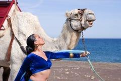brzucha wielbłąda tancerz Obrazy Stock