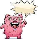 Brzydki świni Opowiadać Fotografia Stock