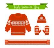 Brzydki puloweru dzień Zdjęcia Royalty Free