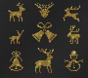 Brzydki puloweru wzór Obraz Royalty Free