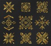 Brzydki puloweru wzór Obraz Stock