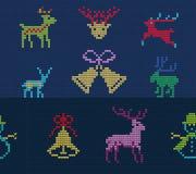 Brzydki puloweru wzór Obrazy Royalty Free