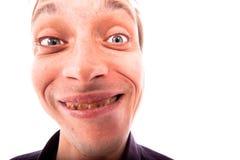 brzydki twarz mężczyzna Fotografia Royalty Free