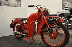 BSA矮小的邮局摩托车 库存照片