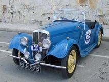 BSA sportów Klasyczny Brytyjski samochód zdjęcia stock
