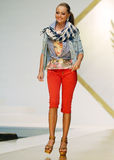 BSB Collection on Catwalk at Bucharest Fashion Week Show royalty free stock image