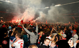 BSC Berlin de Fortuna Düsseldorf v Hertha. Photos stock