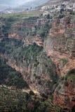 Bsharri och kloster royaltyfri foto