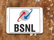 BSNL-Telekommunikationsgesellschaftslogo Lizenzfreie Stockbilder