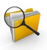 Búsqueda de fichero Imágenes de archivo libres de regalías