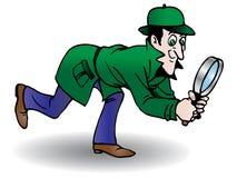 Búsqueda detective Foto de archivo libre de regalías