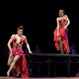 bäst carmen dansar dramaflamenco Royaltyfri Bild