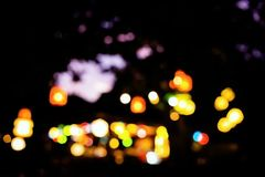 Bstract lights.bokeh lights. Background of defocused abstract lights.bokeh lights Stock Images