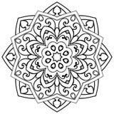Аbstract ornamental mandala. Stock Image