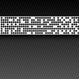 Bstract perforated paper tape. Royalty Free Stock Images