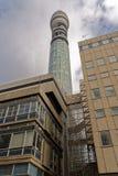 BT电信塔,伦敦 免版税库存照片