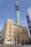 BT-Kontrollturm (aka Post-Kontrollturm, Telekommunikationskontrollturm) Stockbilder