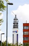 BT post office tower, Birmingham. Stock Photos