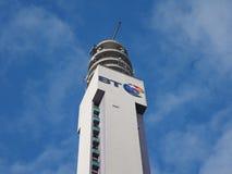 BT Tower in Birmingham Royalty Free Stock Photo