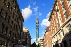 BT tower London Royalty Free Stock Image