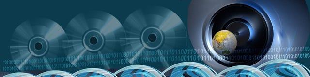 BTechnology und Zugriff zur Welt Lizenzfreies Stockfoto