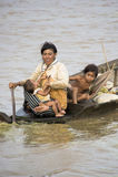 båtflyktingar Royaltyfri Foto