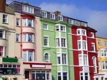 Bâti de touristes - et - hôtels de déjeuner Photo libre de droits