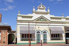 Bâtiment d'héritage à York, Australie occidentale Image stock