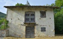Bâtiment dans Vernasso Photographie stock