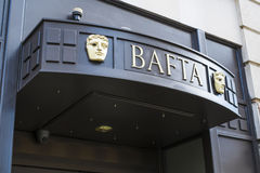 Bâtiment de BAFTA Image stock