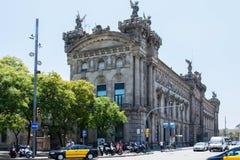 Bâtiment de gouvernement de Barcelone Image libre de droits