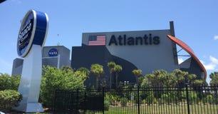 Bâtiment de l'Atlantide Images libres de droits
