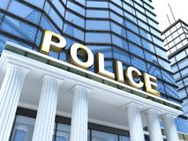 Police Image libre de droits
