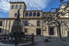 Bâtiment de Zamora Photographie stock libre de droits