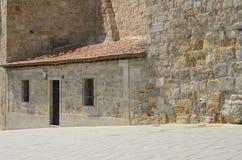 Bâtiment en pierre à Salamanque Image stock